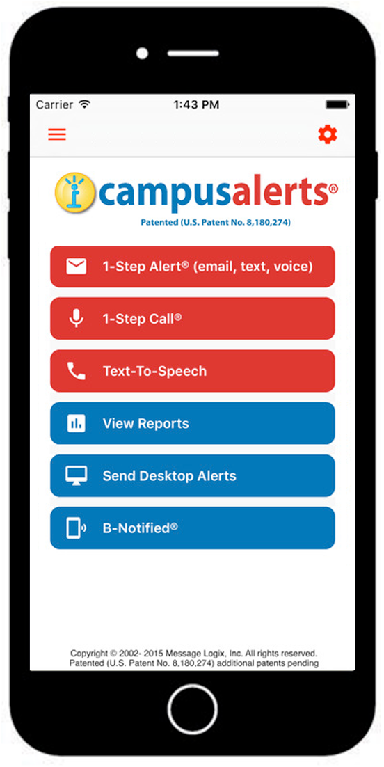 Emergency Notification System Campus Alerts
